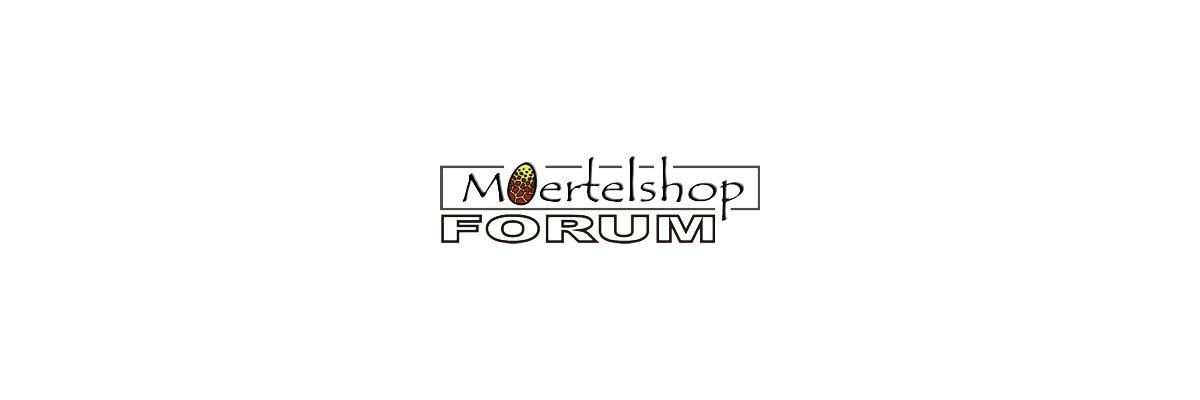 Moertelshop Newsletter vom 11.4.2020 - Moertelshop Newsletter vom 11.4.2020