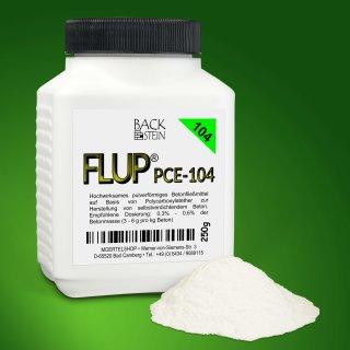 FLUP® - PCE-104 Fließmittel in Pulverform, 250 g