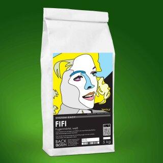 FIFI Fugen- und Feinschichtmörtel weiß, 5 kg