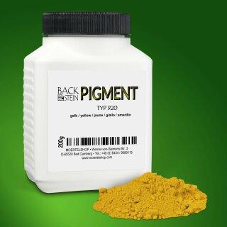 Zementechte Pigmente Typ 920 gelb
